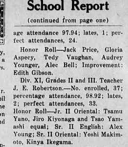 Cumberland Islander Jun 1931 excerpt showing segregated classes (1)